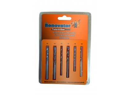 PACK 6 FORETS POUR RENOVATOR TWIST A SAW